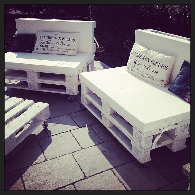 Paletten Lounge  baumann-accessories