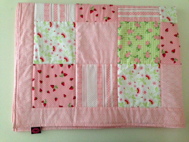 patchwork baby decke baumann accessories. Black Bedroom Furniture Sets. Home Design Ideas