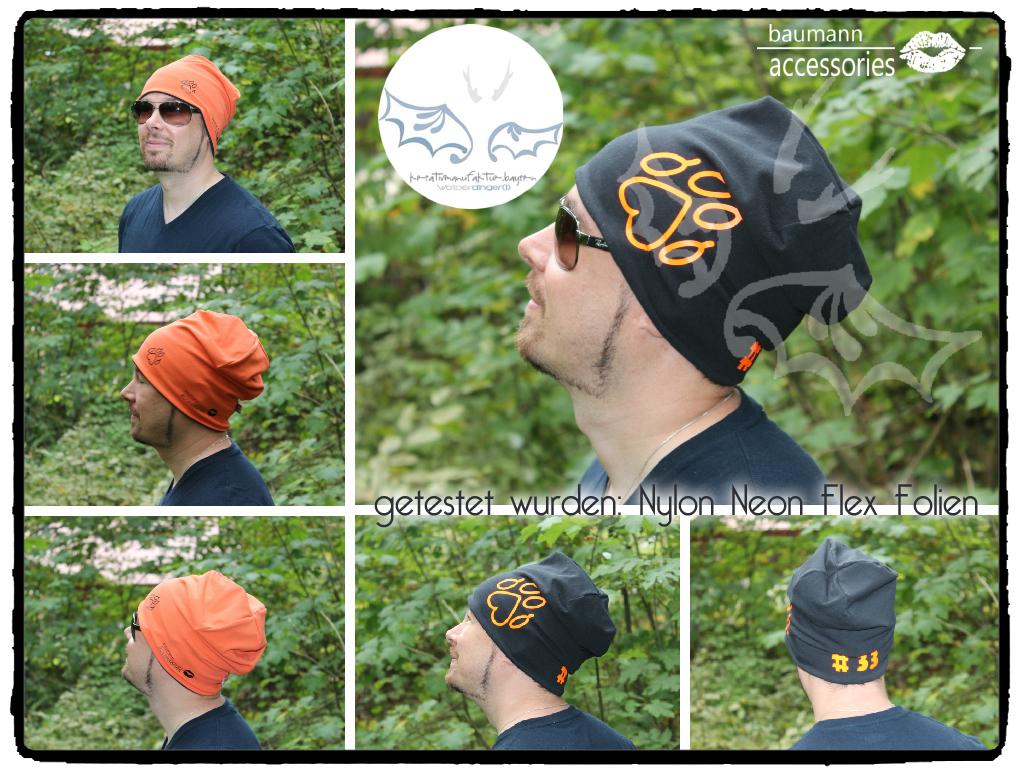 Collage Orange Schwarz