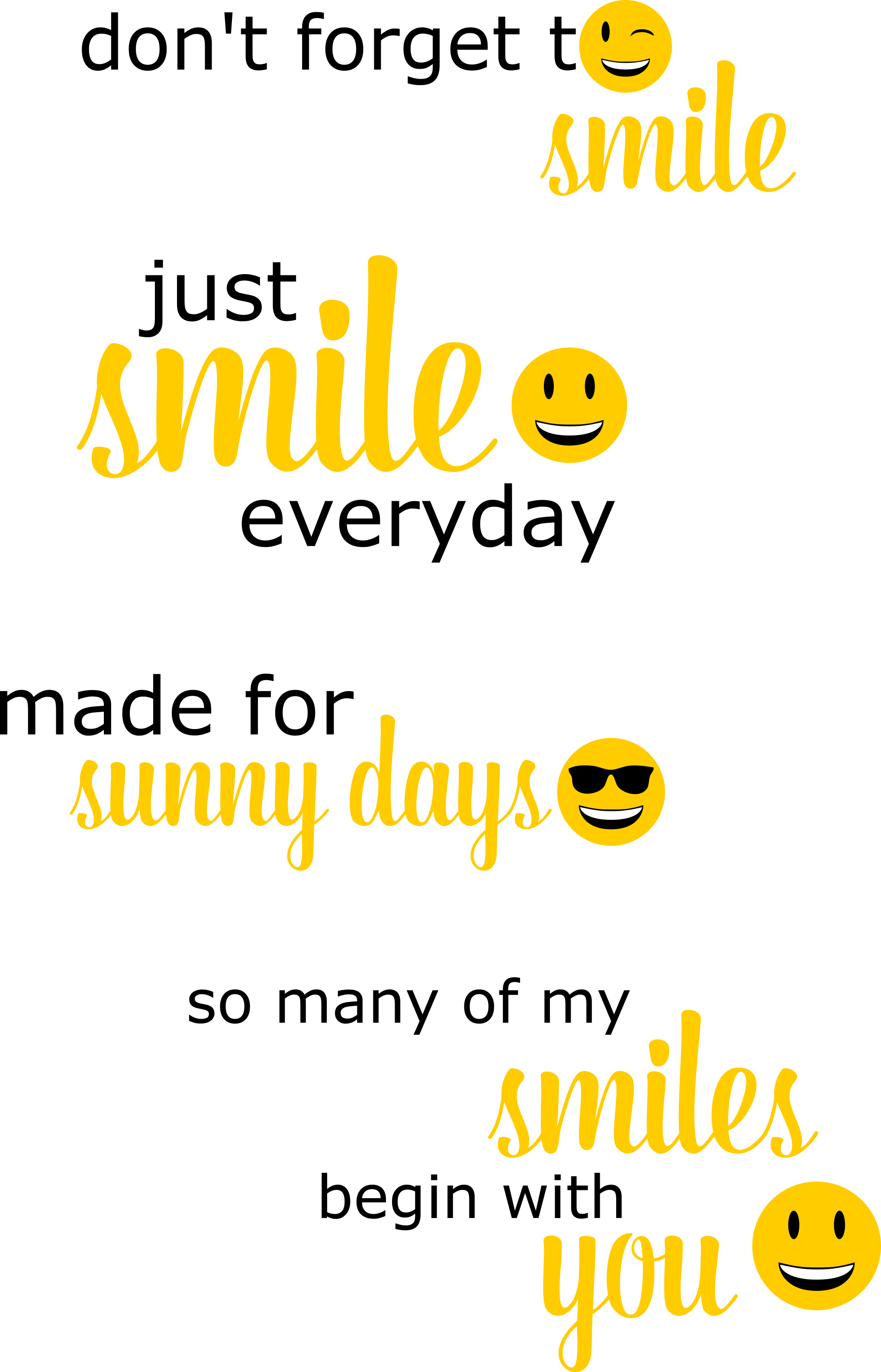 Smilies Sprüche