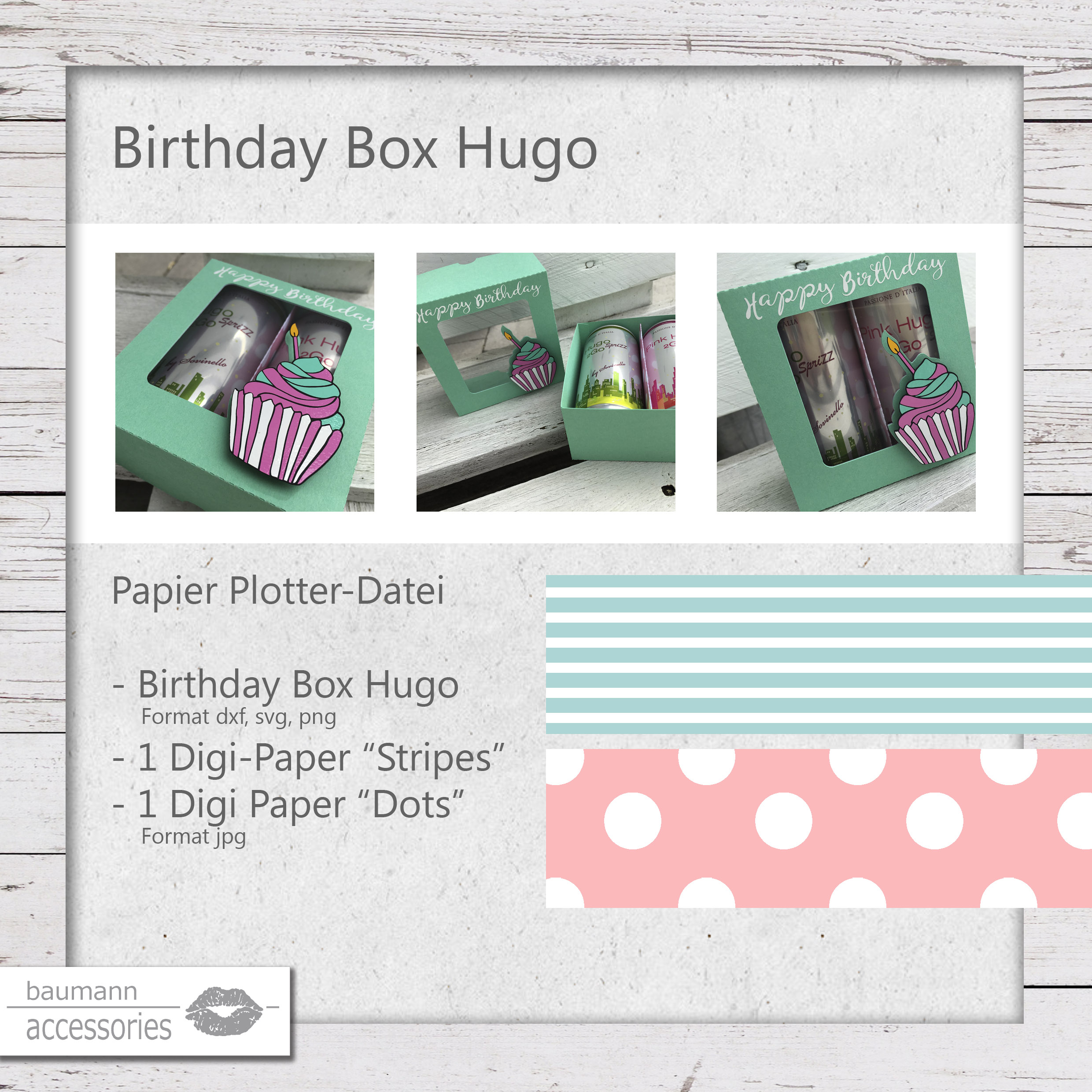 Produkt Birthday Box Hugo
