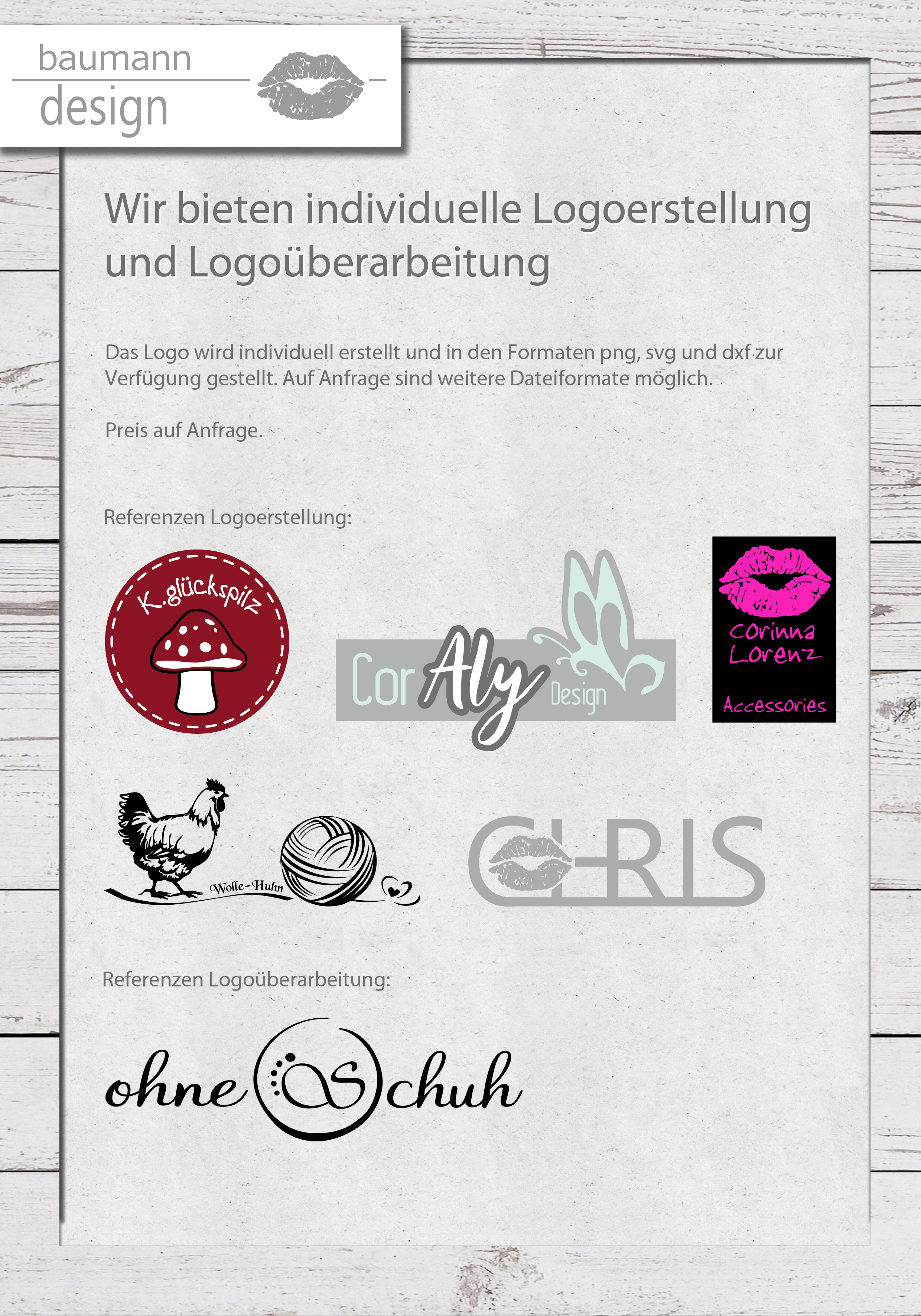 Referenzen Logo Erstellung