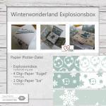 Winterwonderland Explosionsbox