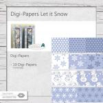 Digi-Papers Let it Snow