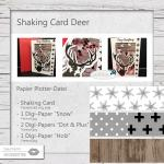 Shaking Card Deer