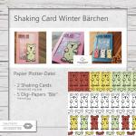 Shaking Card Winter Bärchen