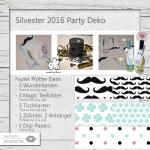 Silvester Party Deko 2016