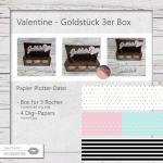 Valentine - Du bist mein Goldstück - 3 Rocher