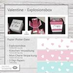 Valentine Explosionsbox