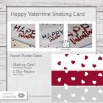 Valentine - Shaking Card