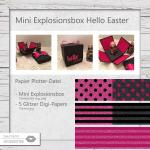 Mini Explosionsbox Hello Easter