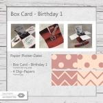 Box Card Birthday 1