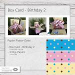 Box Card Birthday 2