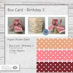 Box Card Birthday 3