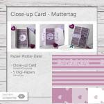 Close-up Card - Muttertag