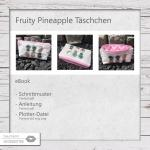 eBook Fruity Pineapple Täschchen