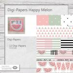 Digi-Papers Melon Mix