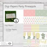 Digi-Papers Pineapple Mix