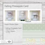 Falling Pineapple Card