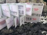 Flap Card Happy Melon