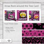 Rock around the Tree Card