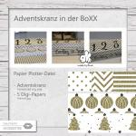 Adventskranz in the BoXX