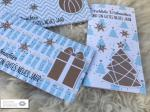 3er Set Weihnachtskarten