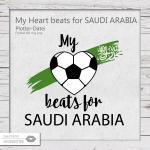 My Heart beats for Saudi Arabia