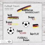 Fußball Traum