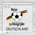 Mein Herz schlägt für Deutschland