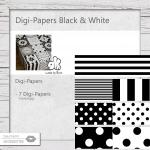 Digi-Papers Black & White