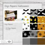 Digi-Papers Halloween